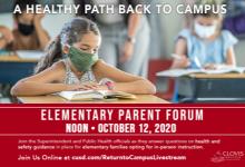 Parent Forum Flyer