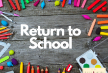 Return to School Clipart