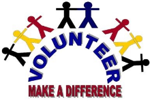 Make a Difference Volunteer art
