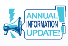 Annual Information Update clipart