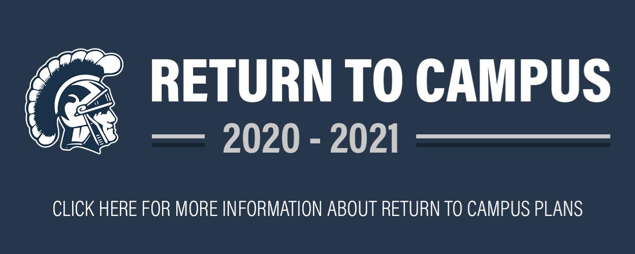 Return to Campus Infographic